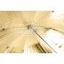 Зонт Falcon Eyes URN-48GS отражение серебро/золото 100 см